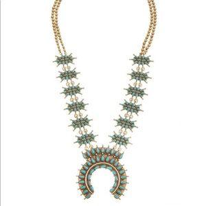 Lucky Brand Squash Blossom Boho Necklace